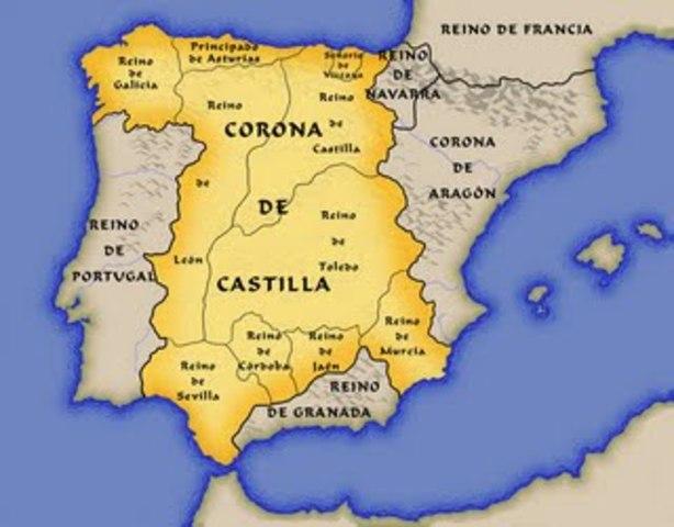 Es forma la corona de Castella