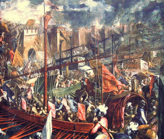 Conquesta de Constantinoble per part dels turcs