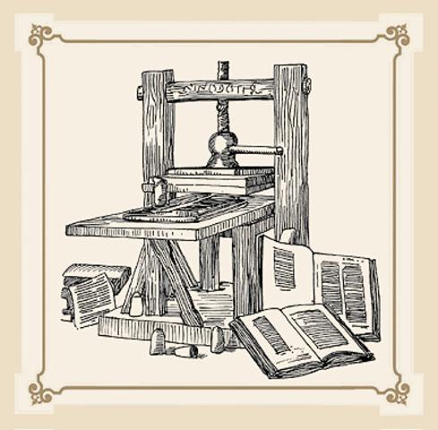 Invenció de la imprempta