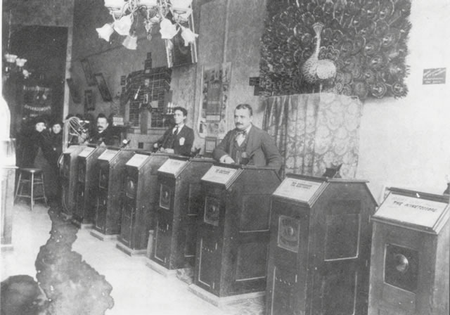 First Kinetoscope parlor