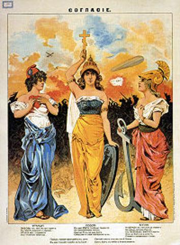 30 Aug 1907, The Triple Entente