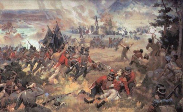 Battle of Queenston Heights - War of 1812