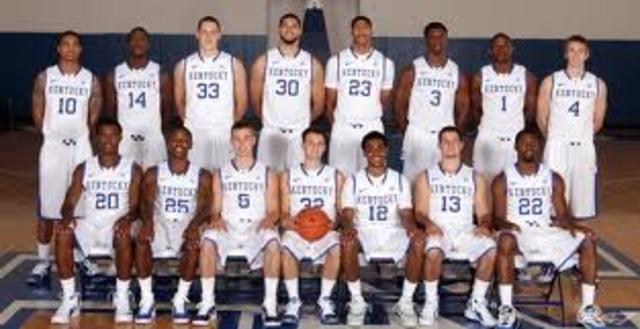Kentucky wins NCAA basketball championship