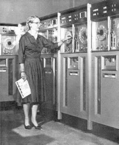 Aparición de la primera generación de computadoras.
