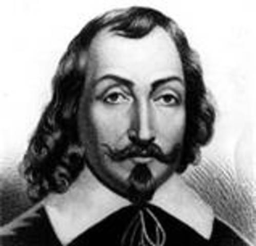Samuel de Champlain founds first colony for New France, in Nova Scotia