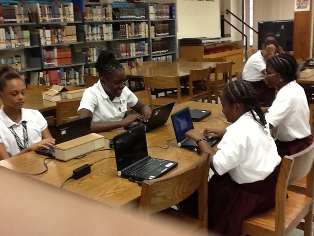 All laptops in the library are tested and ready to go!