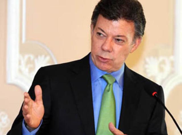 Santos ratifica el ¡no! a zonas de despeje