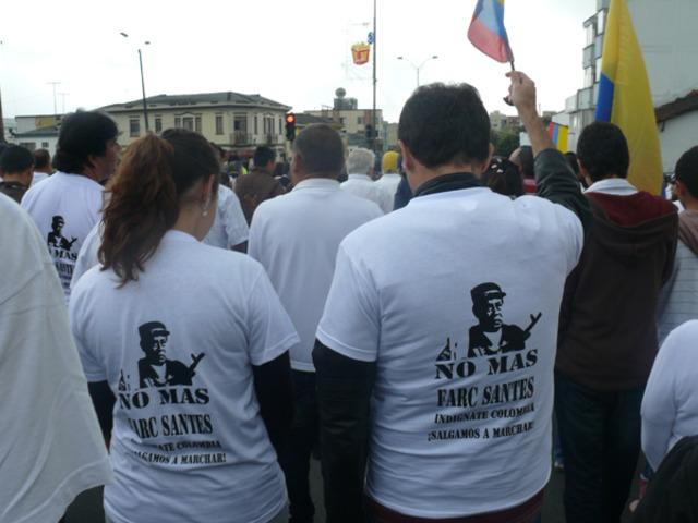 Colombia marchó por la libertad