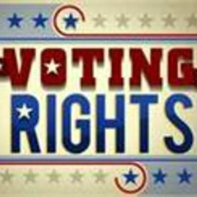 Voting Rights by Kristina Hewett timeline