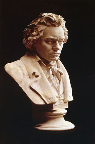 Beethoven's death.