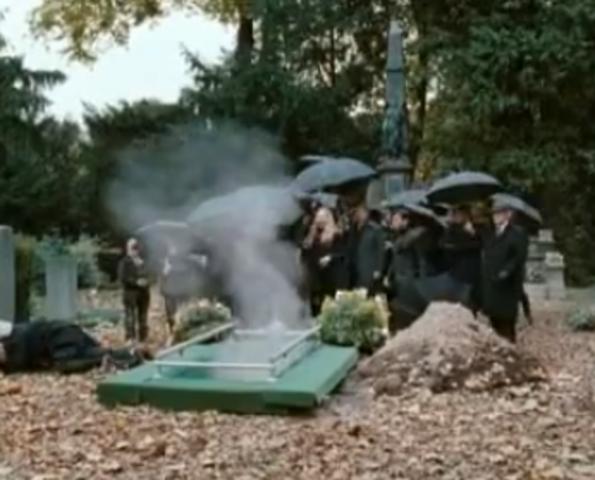 15. Die Beerdigung