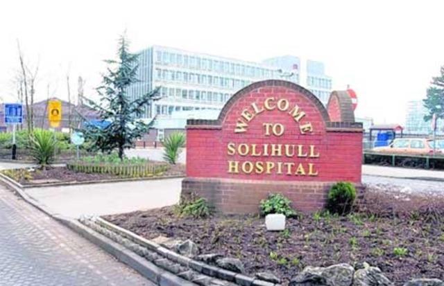 Solihull Hospital, West Midlands