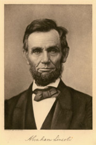 Abraham Lincoln is Re-Elected President