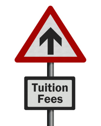 Tuition fee increase: £3,290 to ?