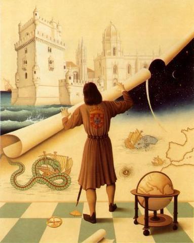 Conquista de Ceuta. Esta data marca o início da expansão portuguesa do Século XV