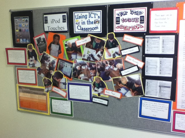 Display in Resource centre