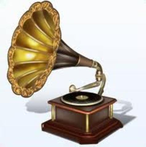 Gramophone was invented