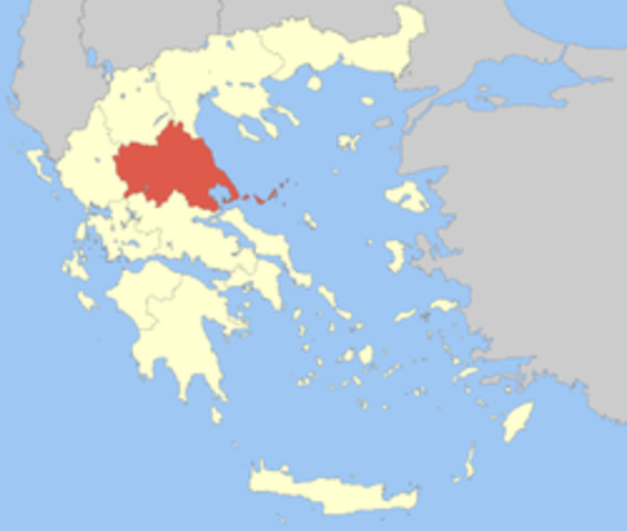 BC-First tell settlements of Agrissa, thessally, Greece