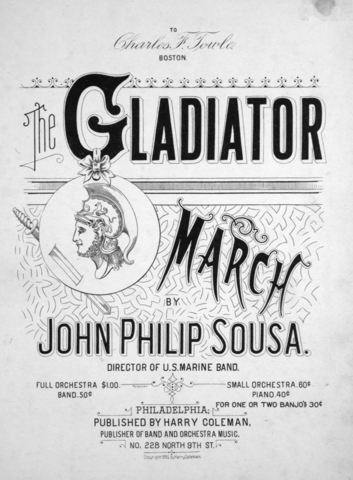 The Gladiator March was composed
