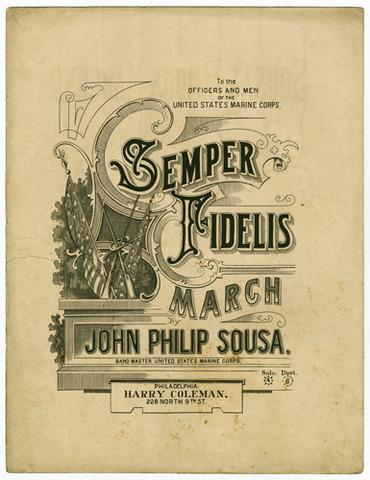 Semper Fidelis is composed