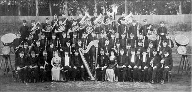 Sousa's New Marine Band's First Concert