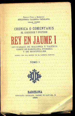 Llibre dels feits, de Jaume I