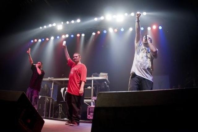Primer concierto de rap en 3D.