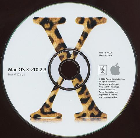 """MAC OS X 10.2 """"JAGUAR"""""""