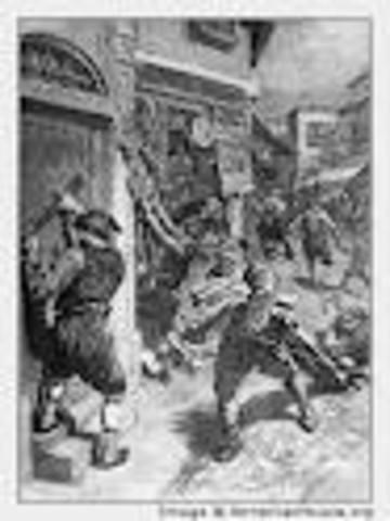 Armenian Merchants Looted