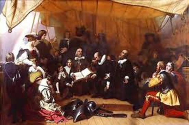 Founding of Plymouth Colony and Mayflower Compact