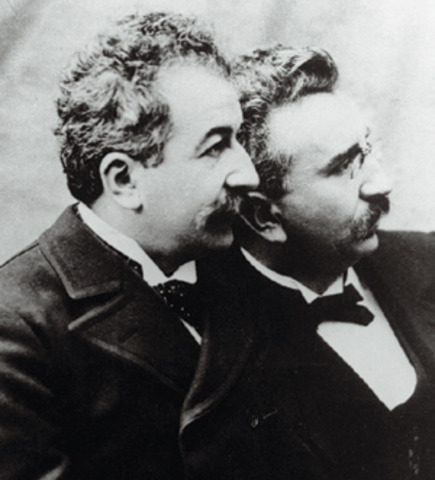 Lumiere Brothers world first public film screening