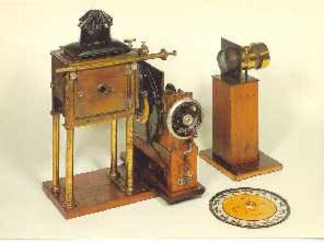 Eadward Muybridge invented Zoopraxiscope