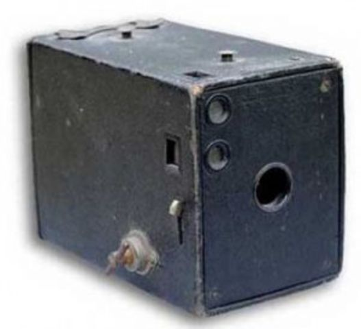 George Eastman Introduced the first hand-held box camera