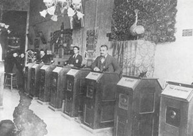 First Kinetoscope Parlor Opened In New York