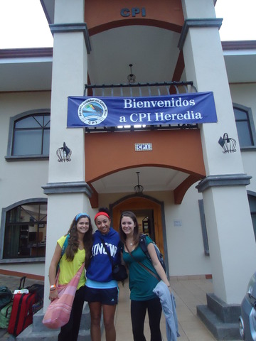 Seeing our School in Heredia for the First time