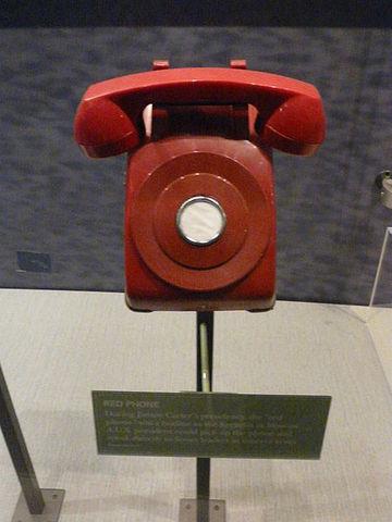 Creacion del teléfono rojo