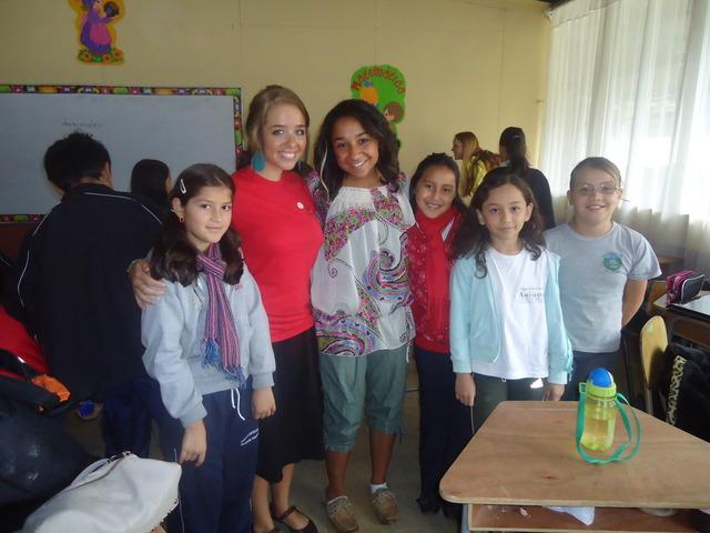 Visit to Saint Elena Elementary School