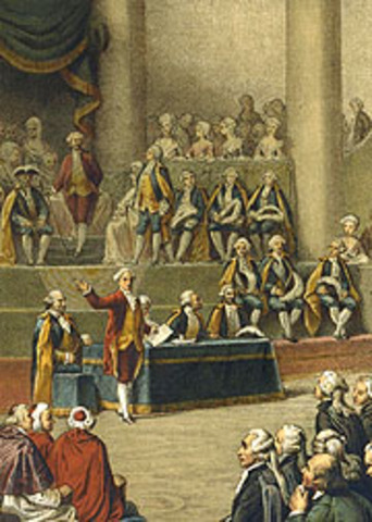 Reunión de los Estados Generales.