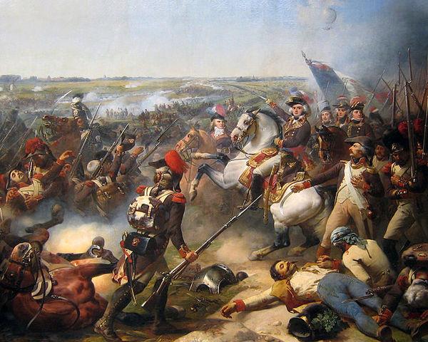 Francia destruye a los austriacos