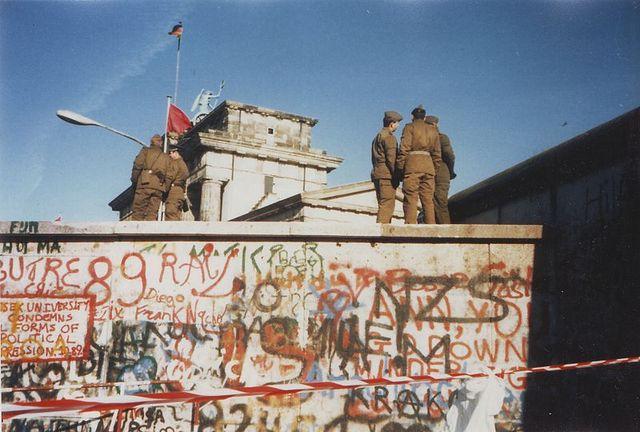 Caíd del muro de Berlín