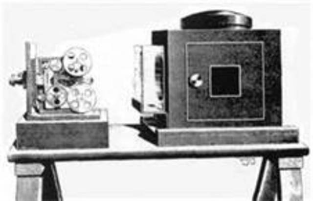 Dickson invented the kinetograph