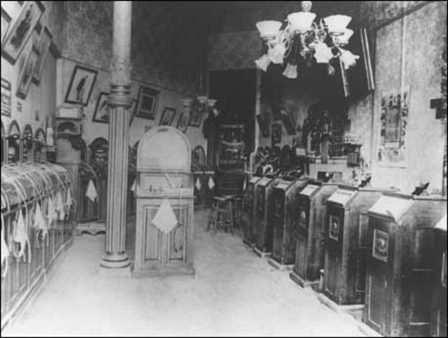 First Kinetoscope Palor Opened in New York