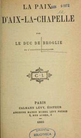 Treaty of Aix-la-Chapelle