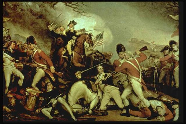 Beginning of American Revolution