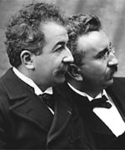 The lumiere brothers have the world's first public film screening