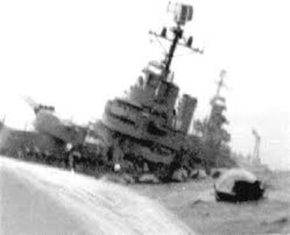 Hundimiento del crucero General Belgrano.