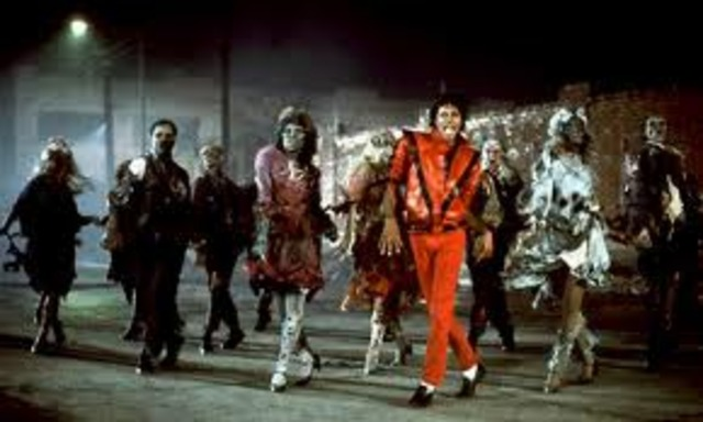 Michael Jackson releases his music video 'Thriller'