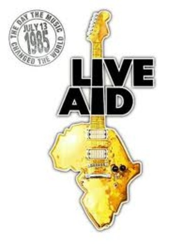 Live Aid concert took place