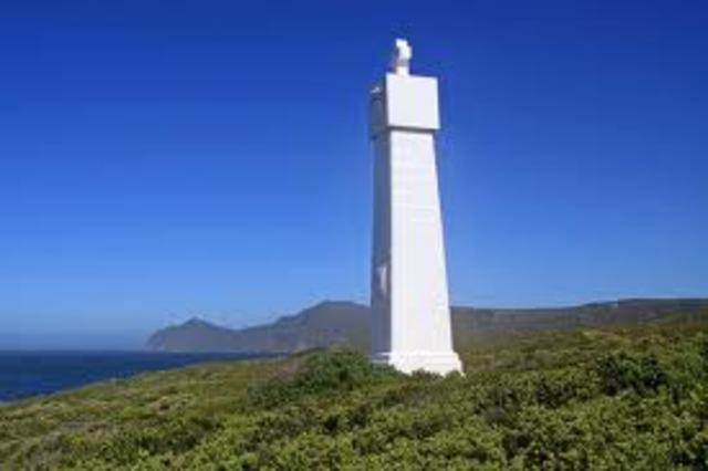 Da Gama sets leaves to sail around Cape Good Hope