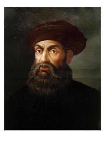 Magellan sets sail to circumnavigate the world